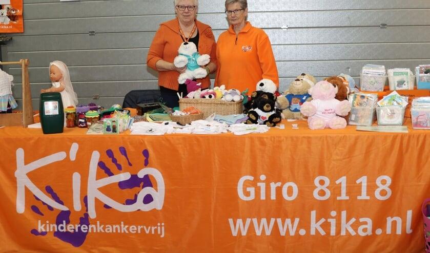 De stand van Kika Zeeland op de Modelbouwshow in de Zeelandhallen. FOTO COBY WEIJERS