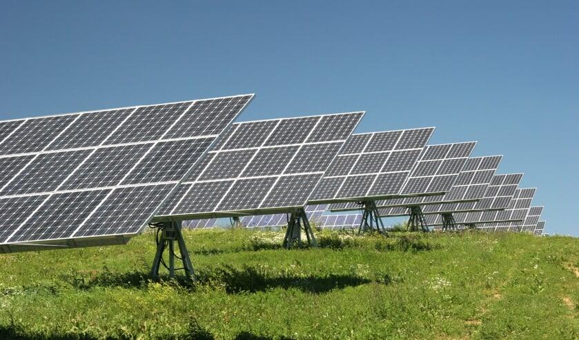 In de gemeente komen geen grootschalige zonneparken. FOTO SHUTTERSTOCK