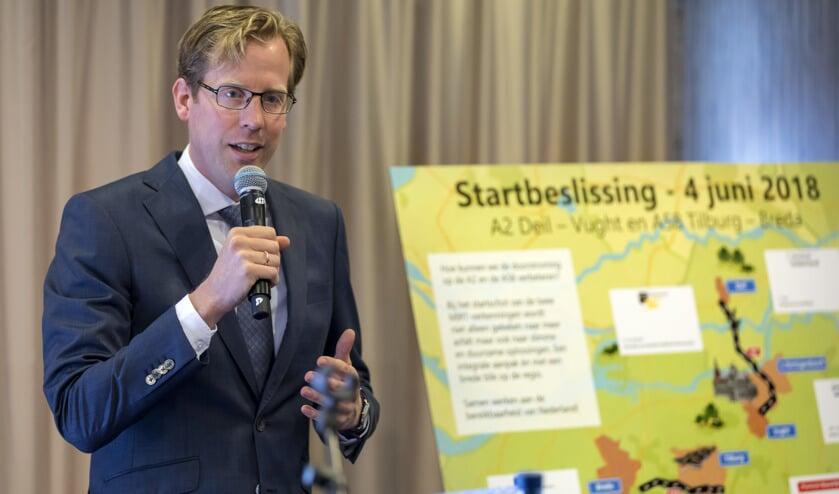 Gedeputeerde Christoph van der Maat