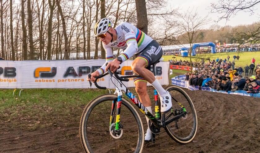 Van der Poel tijdens GP Adrie van Der Poel 2020.