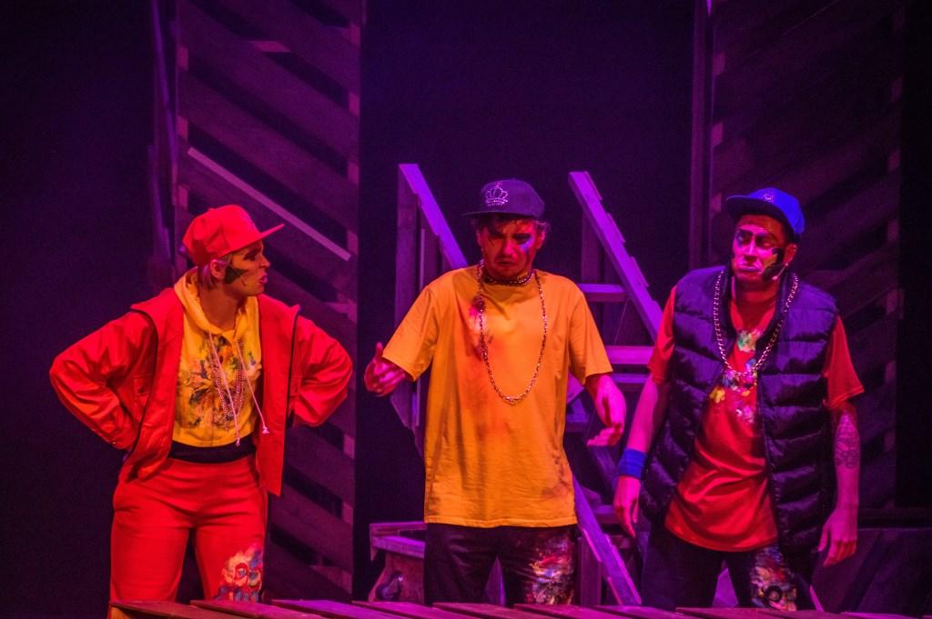 Voorstelling van Robin Hood door hé-cabaret.  Foto: Charles van Campenhout © Internetbode