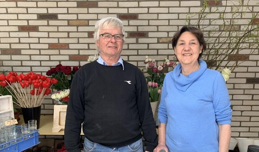 Pierre en Mieke Boschman nemen afscheid van hun bloemenzaak