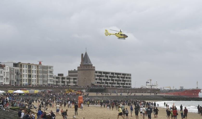 Rescue in 2018. Het evenement trekt steevast veel bezoekers.