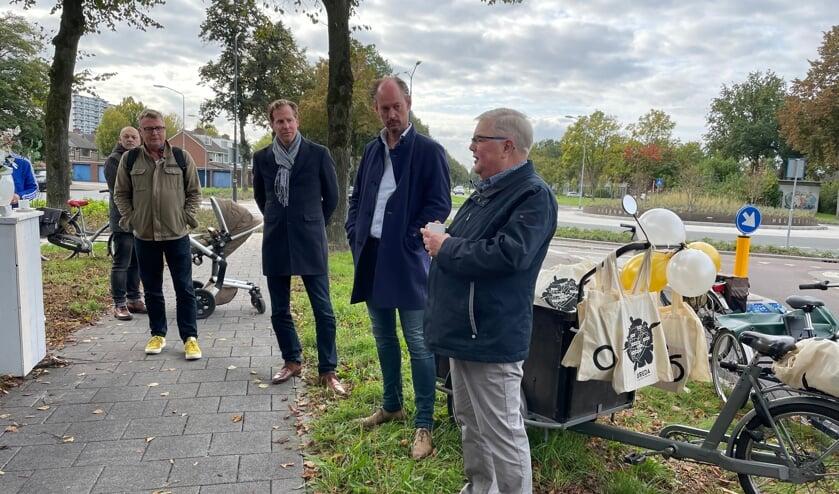 <p>Christophe van der Maat, Daan Quaars en Rien Brans</p>