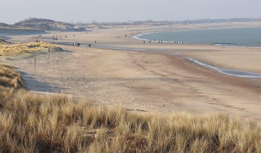 <p>Het strand bij Kamperland.</p>
