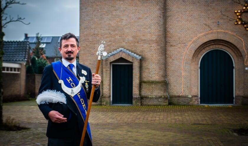 <p>Bart Broosens van het Sint Willibrordusgilde uit Klein Zundert is te zien een een promovideo van het ministerie van BZK.</p>