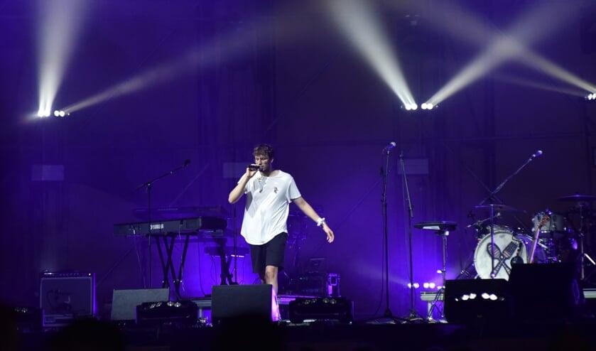 Ben Forte tijdens het zomerfestival Den Bosch
