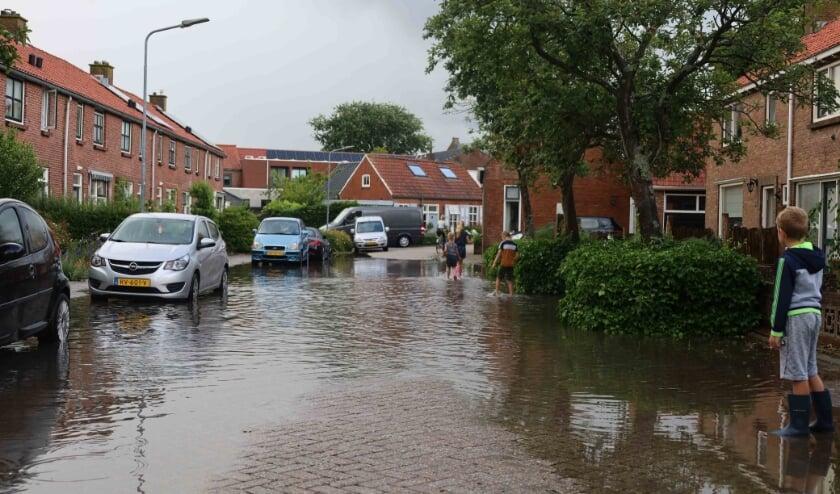 Wateroverlast Meliskerke