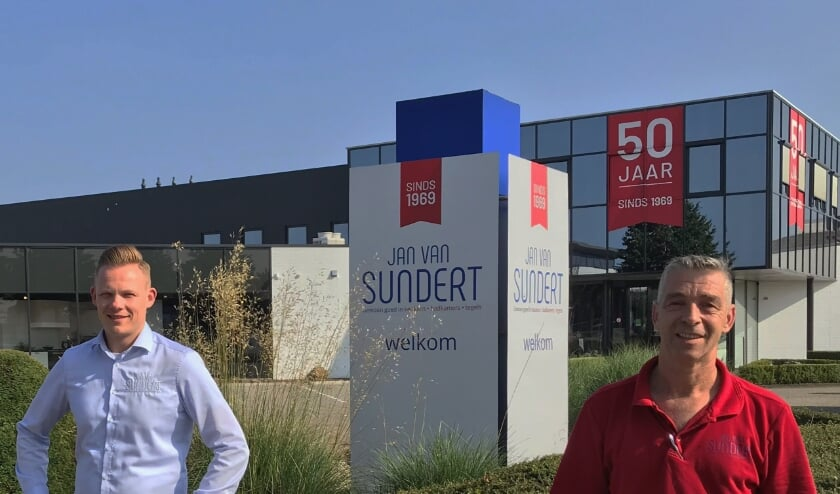 Jordy en Pascal bij Jan van Sundert.