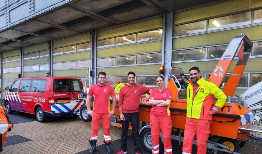 Het reddingsteam uit Breda