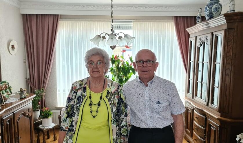 <p>Het diamanten echtpaar Van Ginneken-Roks.</p>