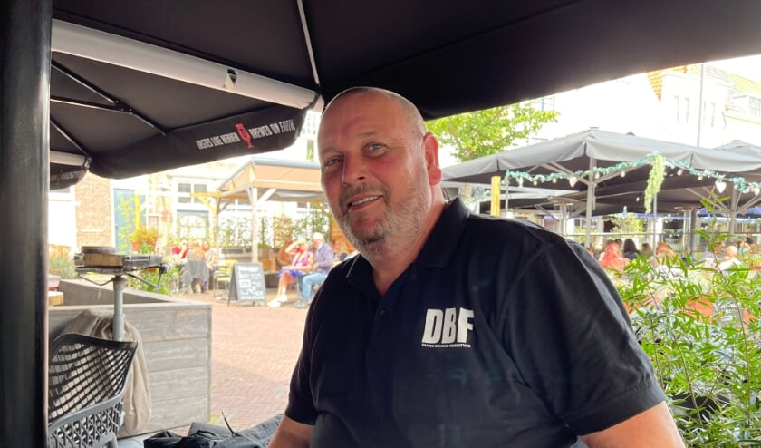 Beveiliger Tom Kieboom van DeltaSafe Security