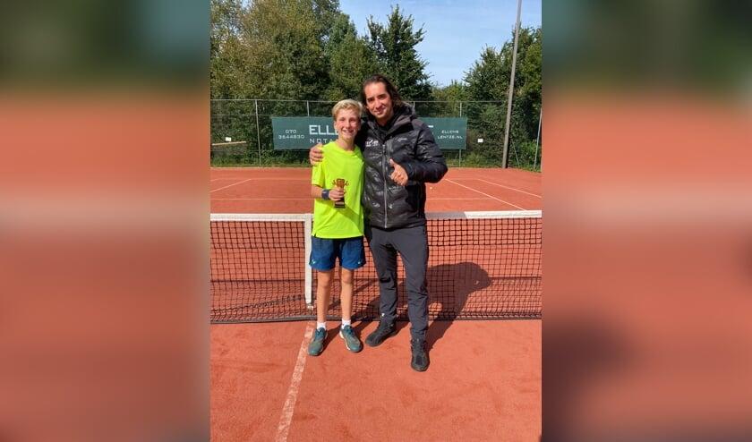 Stan Put en zijn coach Benjamin Reek