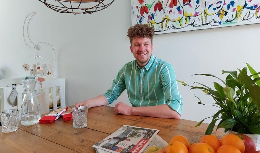 <p>Thibaud van der Steen: 'Positiviteit konden wij ook wel gebruiken in ons privéleven'&nbsp;</p>
