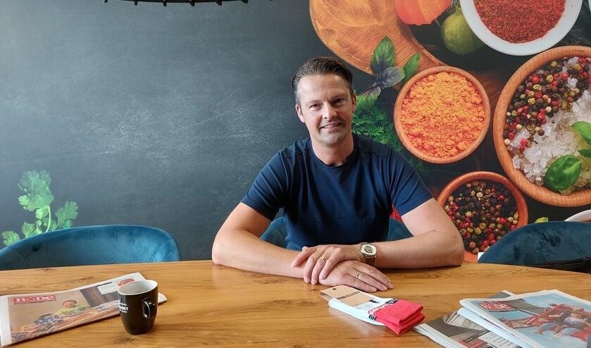 <p>Johan van Marle van het landelijke bedrijf Uitgekookt.</p>