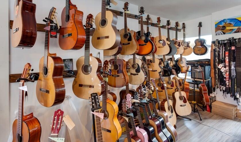 Guitar Shop Delft is, met inachtneming van alle regels, gewoon geopend. (Foto: PR)