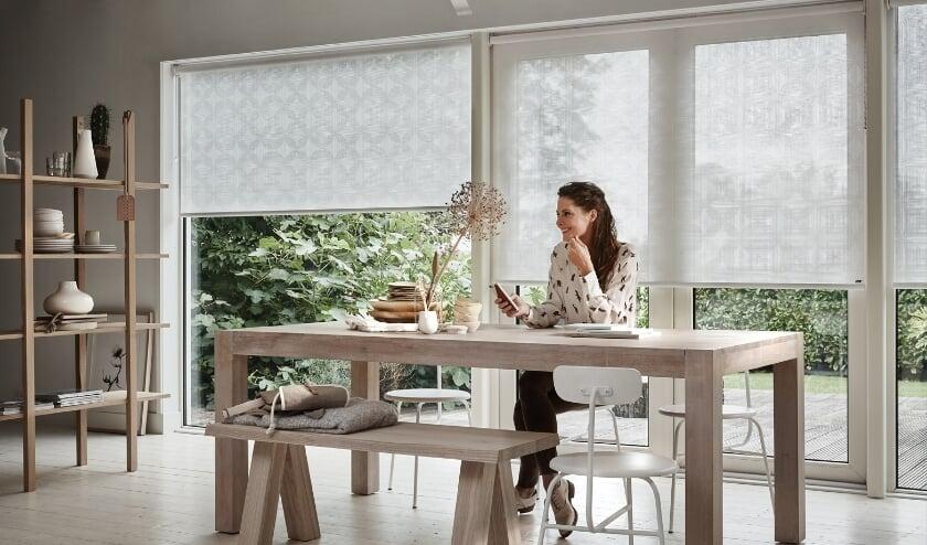 Kom inspiratie opdoen bij Luxaflex® Indoor van Eradus Zonwering.