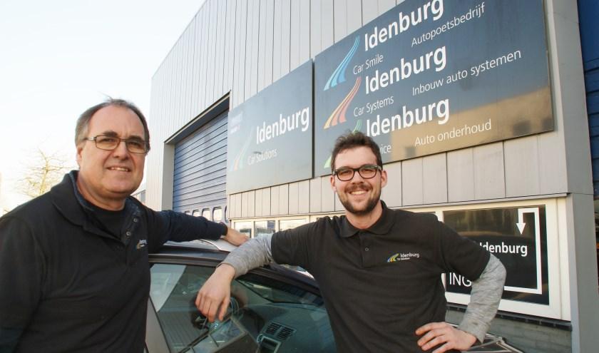 Vader Martin en zoon Erik Idenburg heten u ook in het nieuwe jaar van harte welkom.