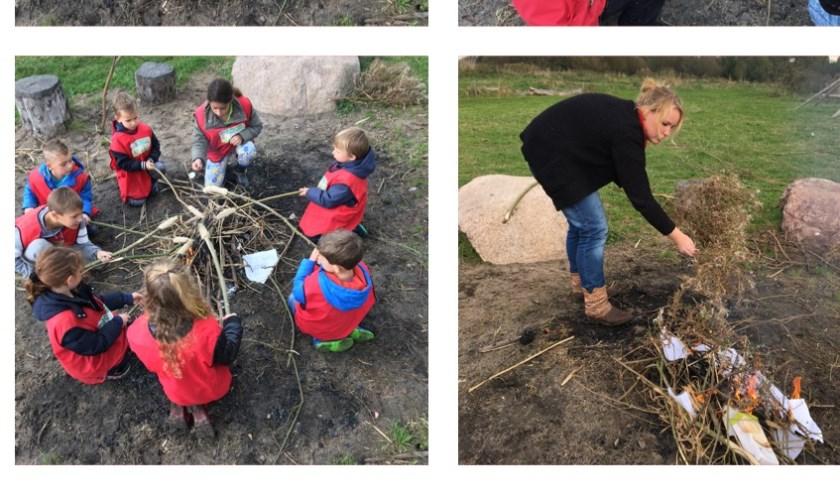 Winter of geen winter, wij zijn buiten met de kinderen. (Foto: PR