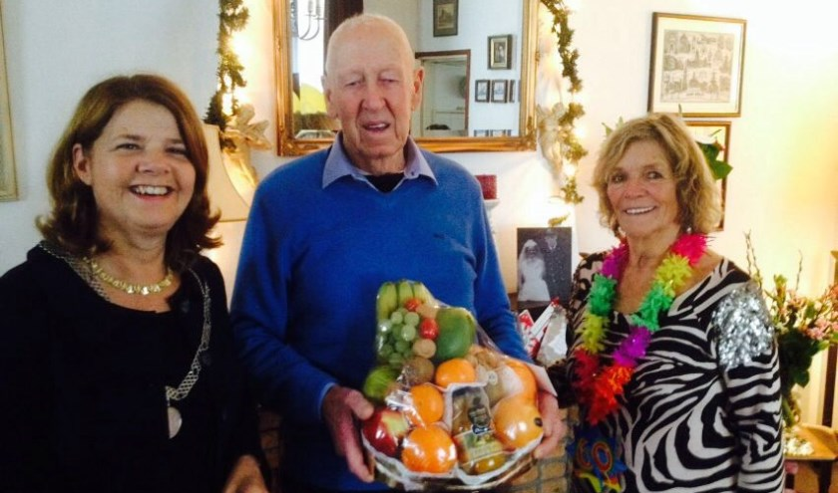 Op 21 december waren de heer en mevrouw Van Bergen 60 jaar getrouwd. Ze kregen bezoek van burgemeester Marja van Bijsterveldt.