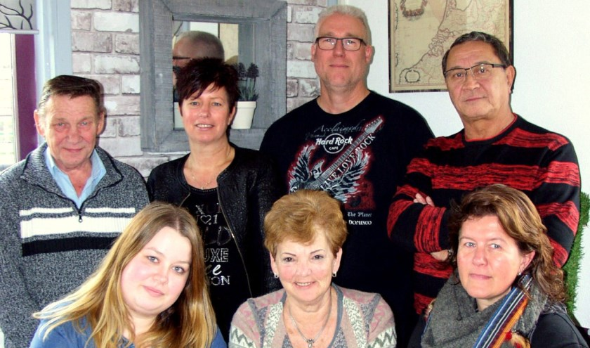 De leden van de Werkgroep Abtswoude Midden hebben grote plannen voor het nieuwe jaar. (Foto: PR