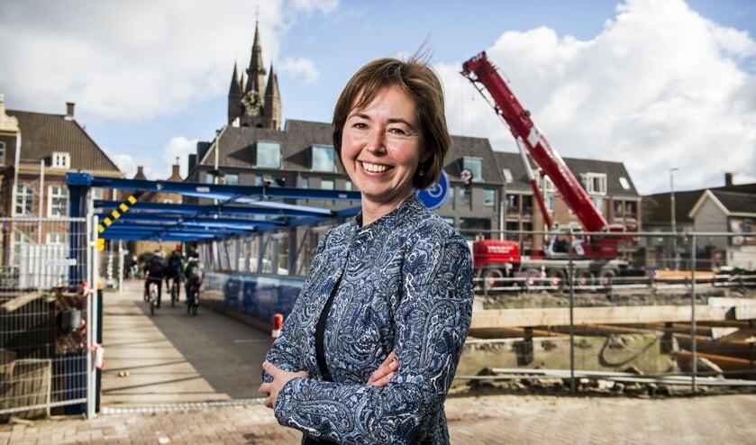 Historicus Ingrid van der Vlis (Foto: Desirée Schippers)