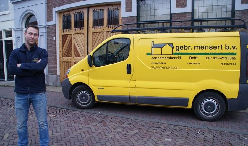 Piet Mensert zet samen met zijn medewerkers enthousiast het bedrijf van zijn familie voort.