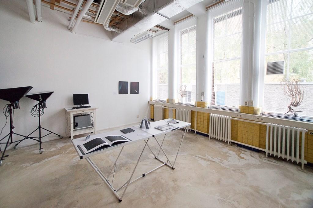 Het atelier van Jacqueline Louter in het Bacinol 2-gebouw.   © RODI Media-zh