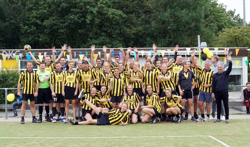 DKC werd op 30 juni officieel opgeheven. Kort daarop vierden leden en oud-leden nog één keer met elkaar een spetterend eindfeest, inclusief wedstrijd tussen leden en oud-leden.