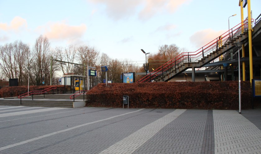 Ook Station Delft Zuid kan inspireren... (foto: EvE)