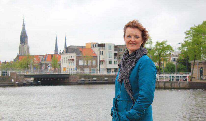 <p>Wethouder Martina Huijsmans ziet het Delft van de toekomst wel voor zich. (Foto: archief)&nbsp;</p>