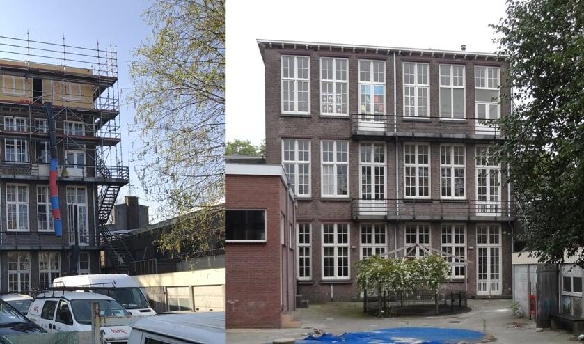 In de Schilderswijk veranderde Kunz Bouwbedrijf een oud schoolgebouw in een appartementencomplex. (Foto: PR)