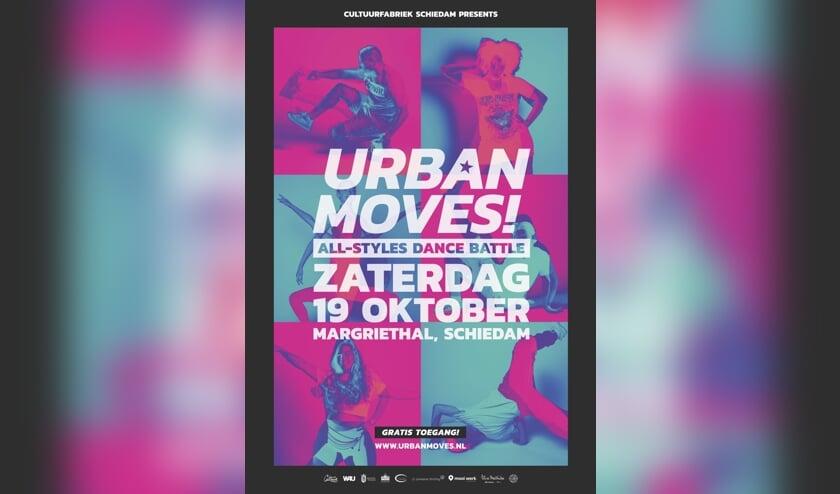 De poster van het evenement in de Margriethal, gaat dat zien!