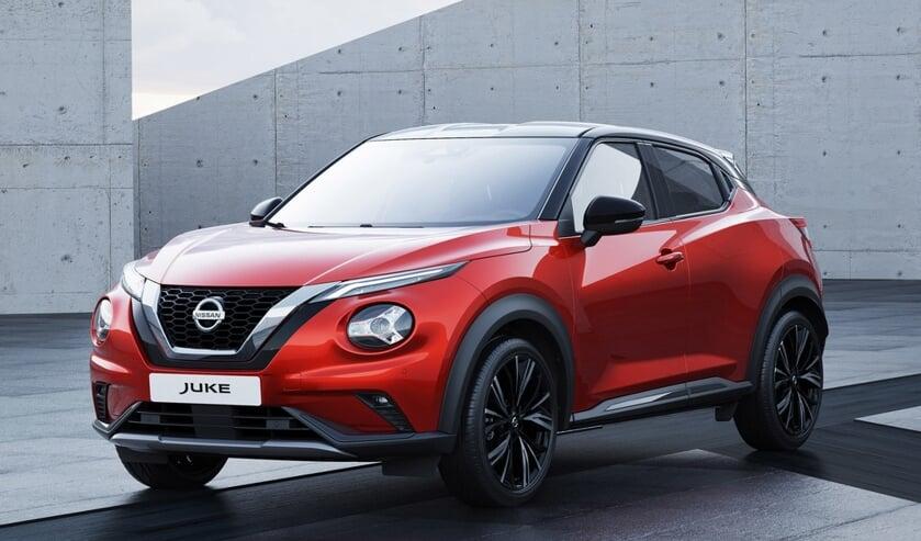 De vernieuwde Nissan Juke, met het vernieuwende 2019-design.