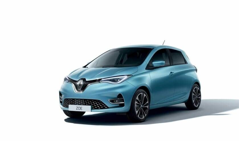 De volledig-elektrische Renault ZOE, voorzien van een zeer sterke batterij en de gepatenteerde Caméléon-lader.