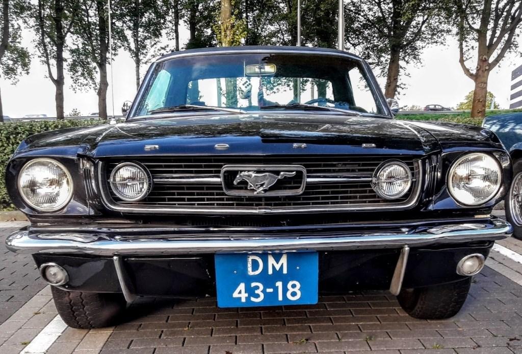 De twee iconische frontjes van de Mustangs: links die van Peter, rechts de GT van Michel  © RODI Media-zh