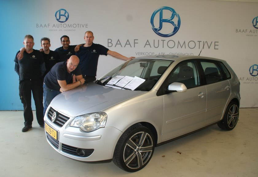 Het team van Baaf Automotive.