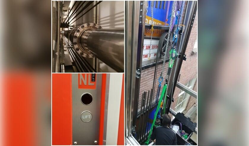 Alle onderdelen van een lift moeten goed onderhouden worden. Wel zo veilig! (Foto: PR)