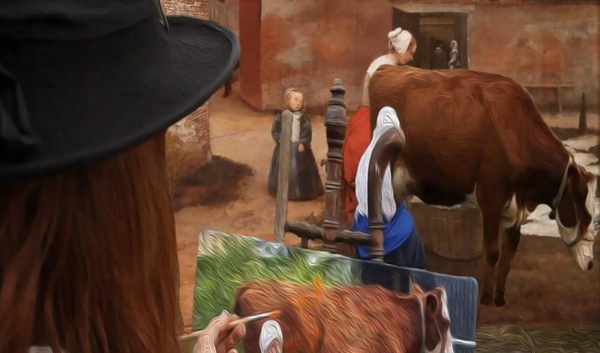Een film n.a.v. de schilderijen van De Hooch, te zien in het Rietveld Theater