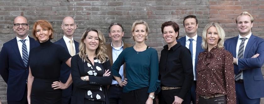 Het team van Van Daal Makelaardij. Samen sterk!