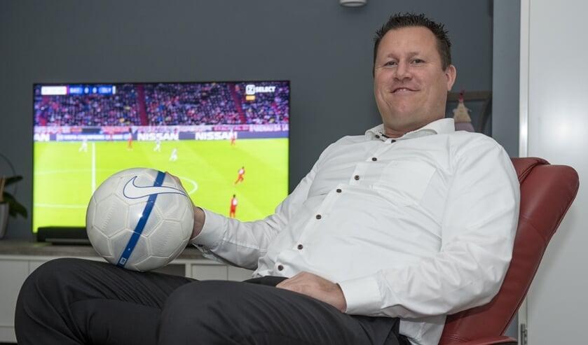 Peter Neeskens draagt DVC nog steeds een heel warm hart toe, ook al is hij nu actief bij de damesjeugd van DSVP. (foto: Roel van Dorsten)