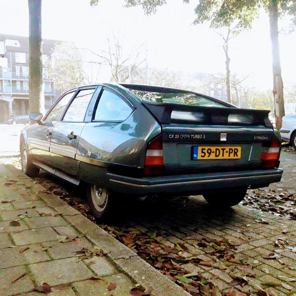 De CX GTI Turbo van Peter  © RODI Media-zh