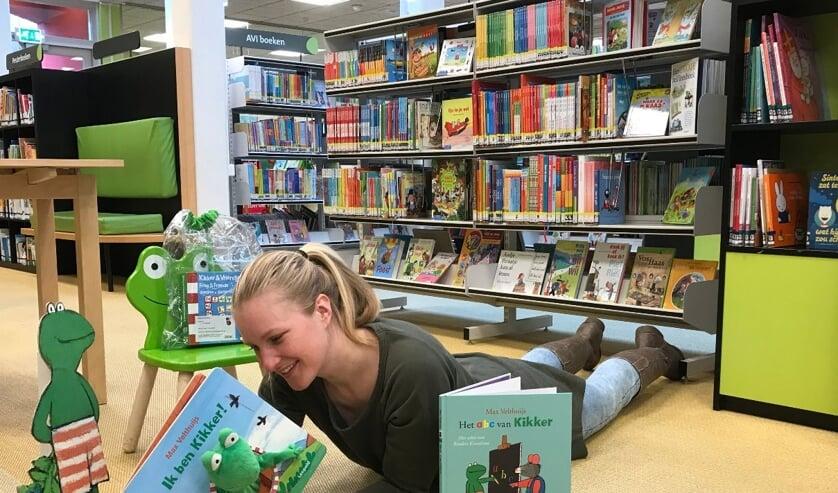 Dorine van DOK Voorhof is verkikkerd op de Kikker-boeken van Max Velthuijs!
