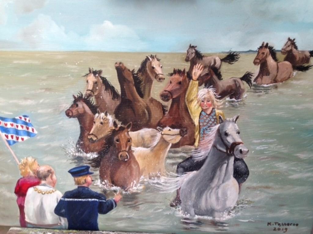 Kees Tettero 'Paarden in Marrum'   © RODI Media-zh