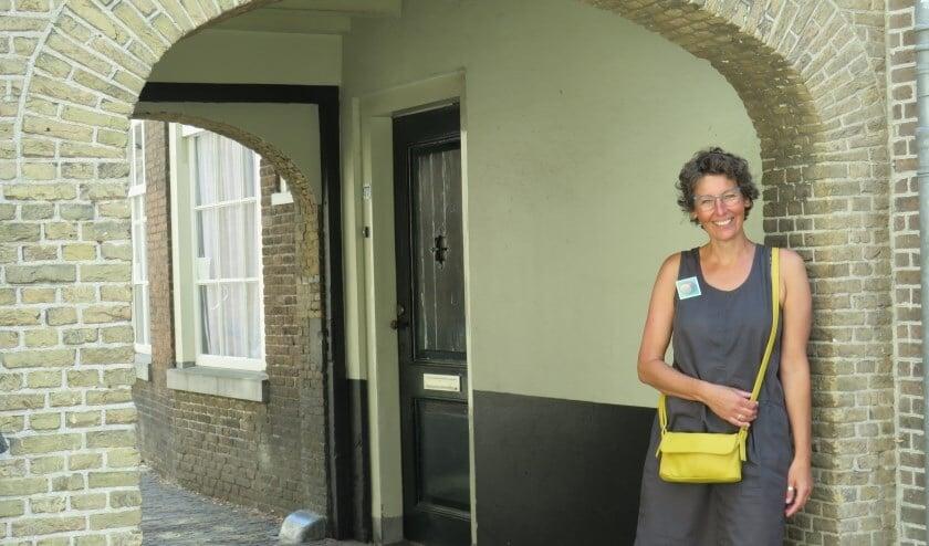 Brie van Klaveren, powervrouw die zich inzet voor behoud van het historische Prinsenhofgebied
