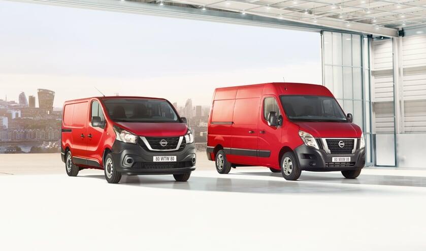 De middelgrote NV300 uitvoering en de grote NV400 uitvoering van Nissan, sterk verbeterd na update.