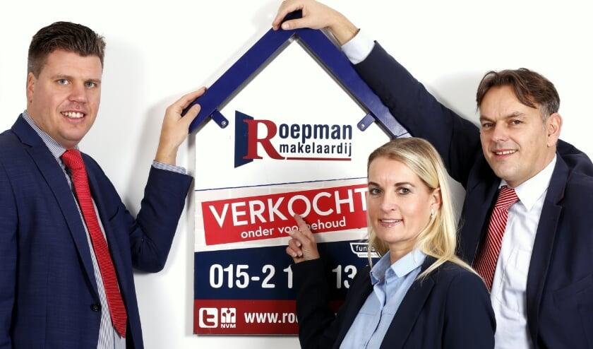 Martijn Sinnema, Nicole Dekker en Ronald Roepman