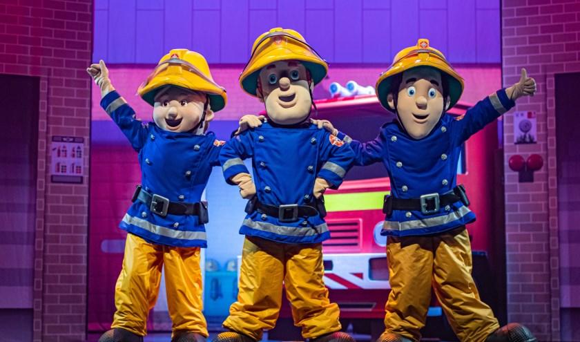 Win kaarten voor Brandweerman Sam in het Zuiderstrandtheater!
