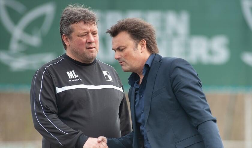Marcel de Letter vertrekt na dit seizoen als trainer van Wippolder. Hij gaat bouwen bij SEP, terwijl hij Ronald Hes, zijn opvolger, de afgelopen jaren regelmatig tegenkwam als trainer van Den Hoorn. (foto: Roel van Dorsten)