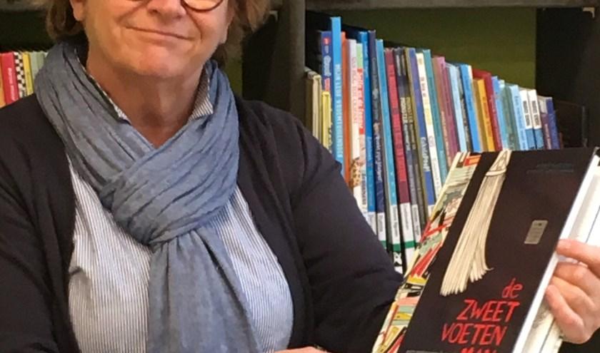 Karin tipt een bijzonder boek. Te leen bij DOK Voorhof!